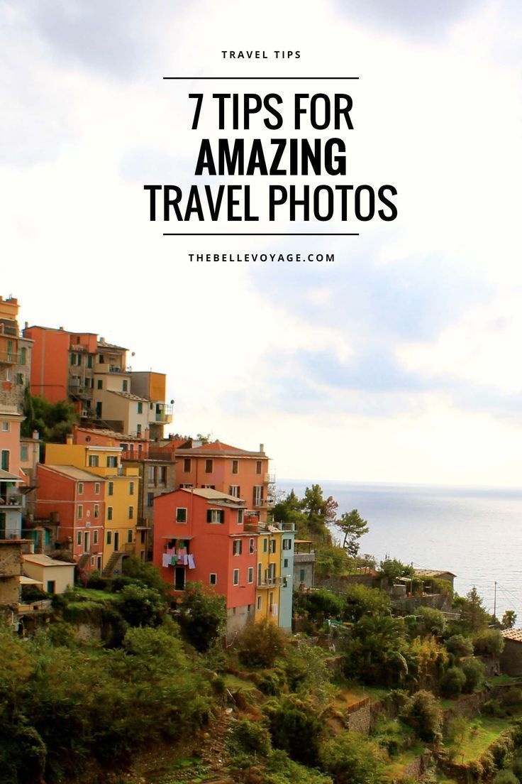 Travel photography tips from a professional photographer!  How to take better travel photos: seven tips that you can start doing right away (even if you're a beginner!) to dramatically improve your photos.