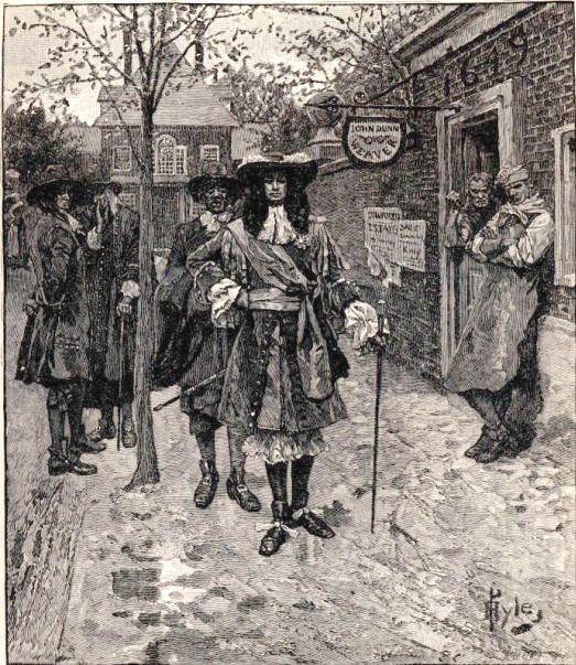 NOV. 10, 1674: The Dutch surrendered their New York territory of New Amsterdam to the English. Sir Edmund Andros accepted on behalf of the English The surrender was part of the Treaty of Westminster which ended the Angol-Dutch war. image: Sir Edmund Andros