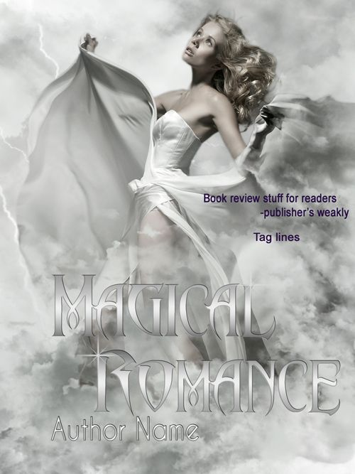 Paranormal Romance book cover