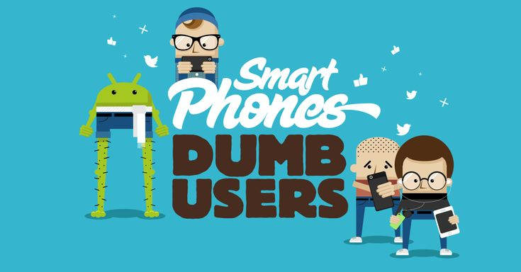 From Ghetto Blasters to Dinner Snappers, find out what kind of dumb smartphone user you are - or others you know!