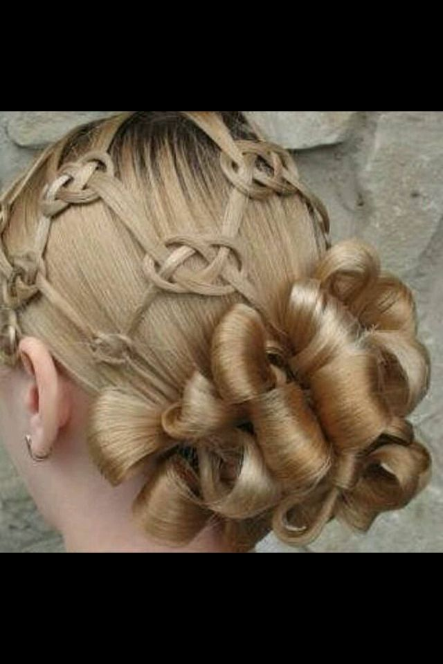 Lol. Get ready, @somkitspider! Celtic knot in hair looks amazing, intricate, and hard to achieve..