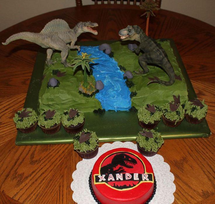 Dinosaur Edible Cake Images Nz : 45 best birthday cakes images on Pinterest