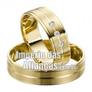 fotos de alianças de noivado baratas
