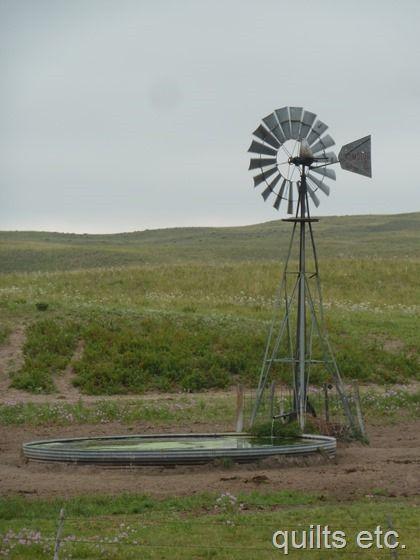 windmill in Nebraska