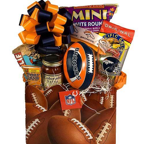 Denver Bronco Gift Baskets | Denver Bronco Football Gift Baskets