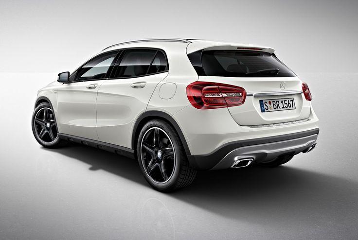 Dit is de Edition 1 uitvoering van de Mercedes GLA