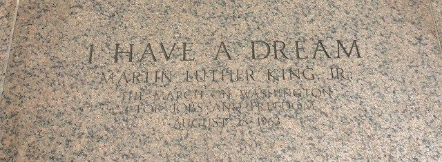 Washington DC, I have a dream