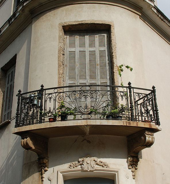New Wrought Iron Window Balcony