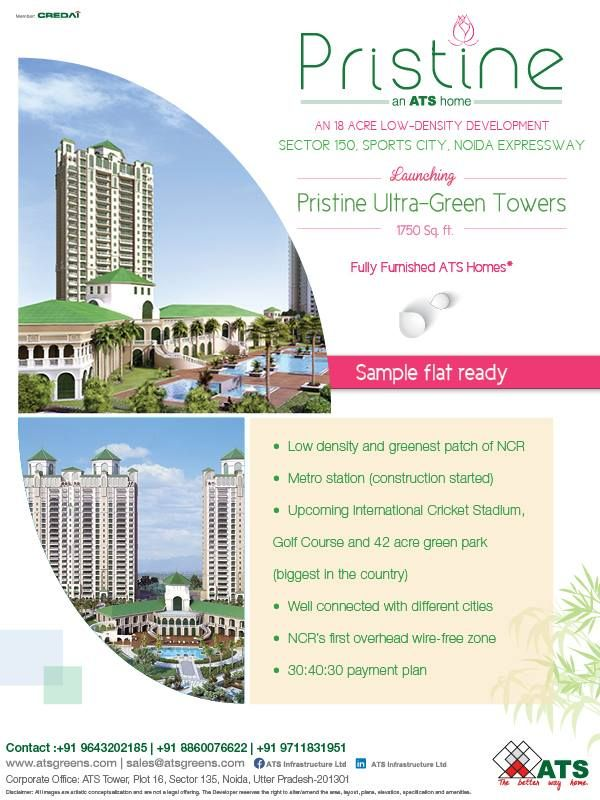 26 Best Ats Pristine Sector 150 Noida Images On Pinterest