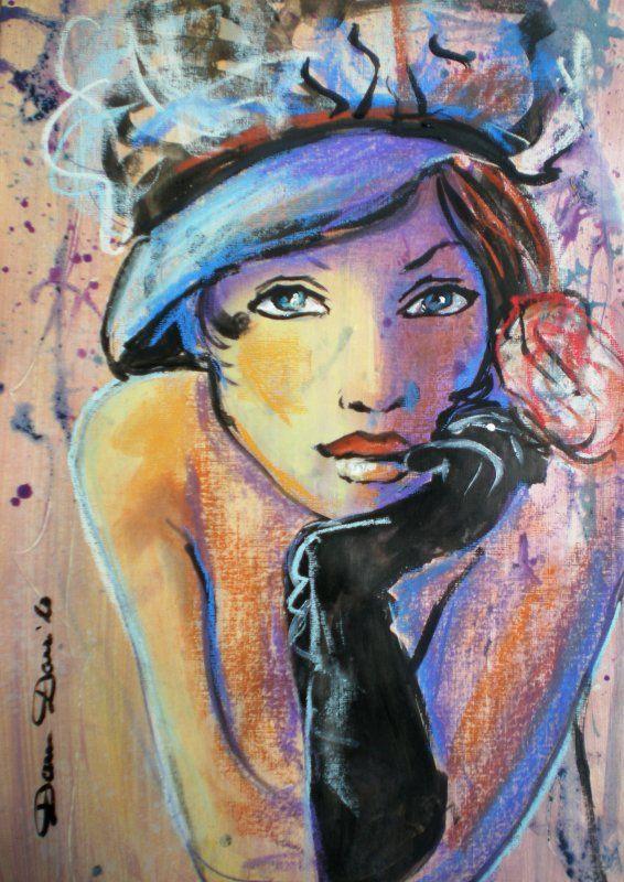 Favori Plus de 25 idées tendance dans la catégorie Portraits peints sur  QG54