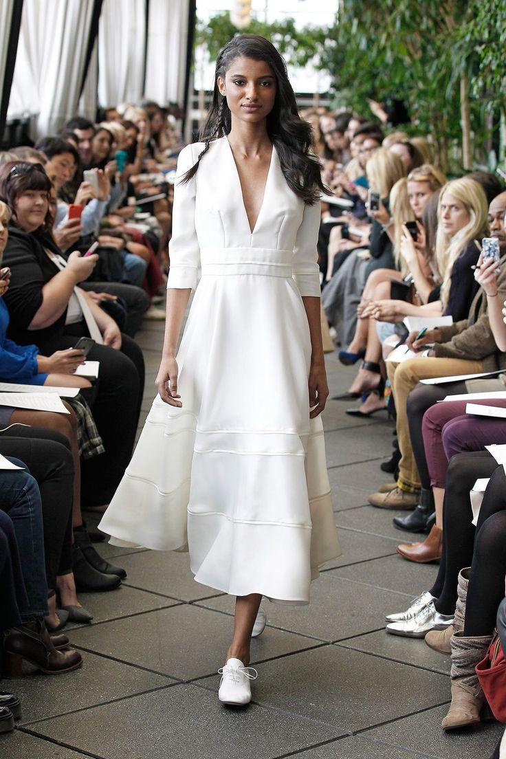 Superb Robe de mari e Prosp re Automne Hiver New York Delphine Manivet Wedding DesignersWedding