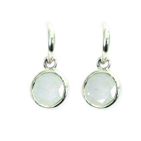 SysterP Hoop Earrings Silver - Nordic Grace Accessories