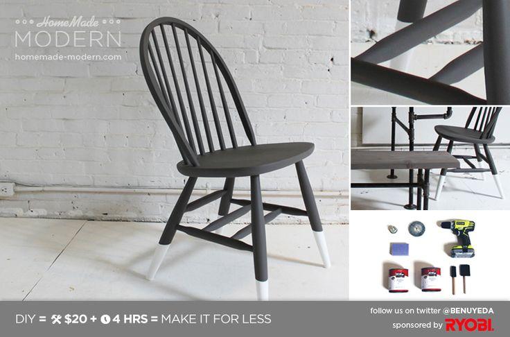 HomeMade Modern DIY EP5 Dip Dye Chair Postcard