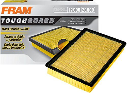 FRAM TGA9401 Tough Guard Air Filter - FRAM's Tough Guard Air Filter is constructed with advanced features to help protect your engine under tough driving conditions. Formulated for increased dirt-holding capacity for dirty, dusty driving conditions, this air filter features pre-oiled media formulated for holding more dirt and dust pa...