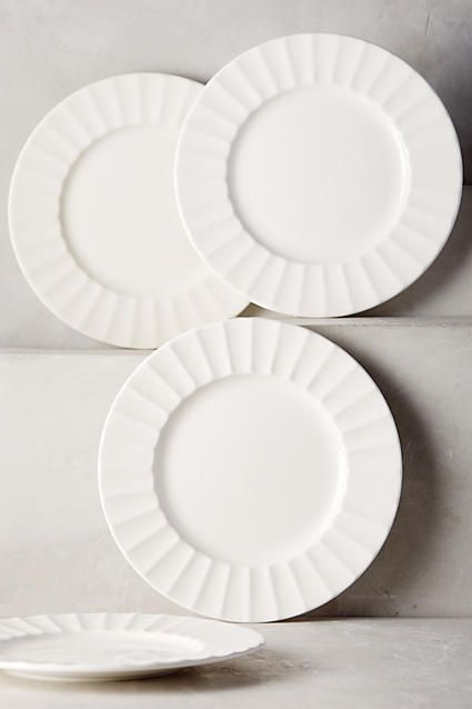 Latte Dinner Plates - anthropologie.com