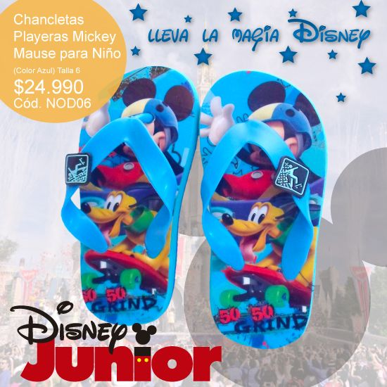 #Disney, #chancletas #playeras #Mickey #Mouse