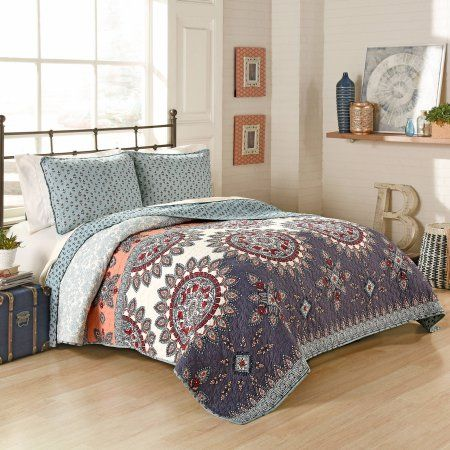 Better Homes and Gardens Moroccan Quilt, Jewel