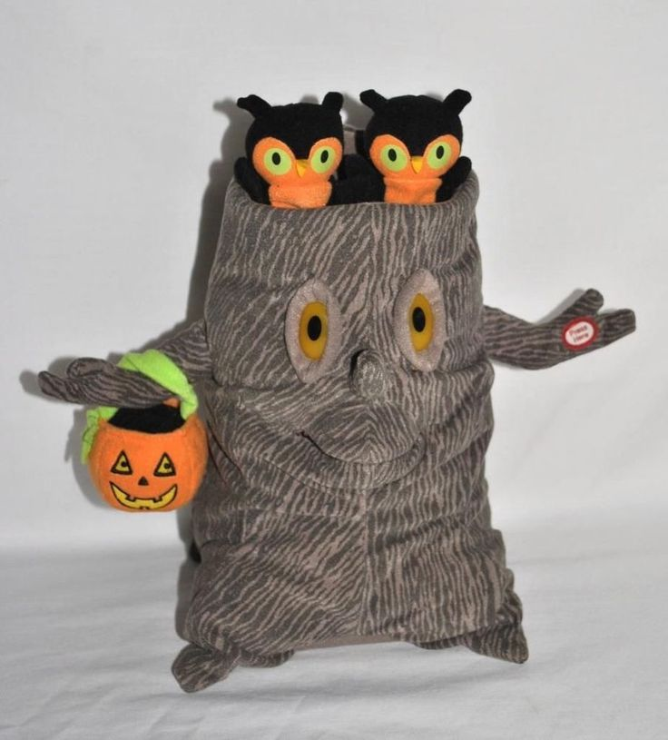 GET IT NOW-Halloween Spooky Tree Singing Animated Lightup Plush Addams Family