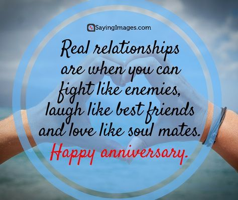 Happy Anniversary Quotes, Message, Wishes and Poems #sayingimages #happyanniversary #anniversary #quotes