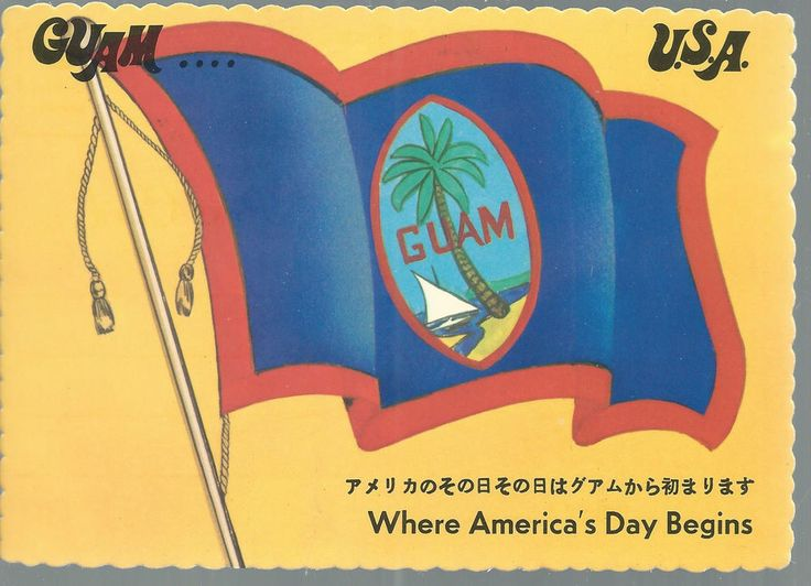 Guam Flag Post Card Day Begins
