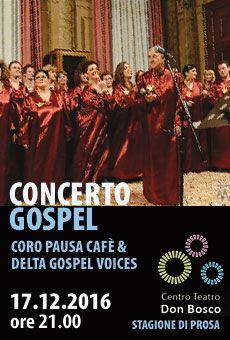 Concerto gospel - Pausa Café Coro Gospel & Pop (PD) e Delta Gospel Voices (RO). Tutti i tuoi eventi su ViaVaiNet, il portale degli eventi più consultato per il tempo libero nella provincia di Rovigo e nella Bassa Padovana