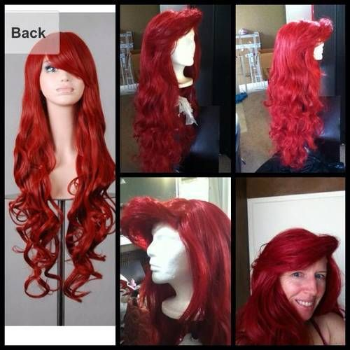 Little Mermaid musical...Ursula Wig and Ariel Wig! - CLOTHING