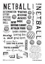 #Netball: Determination, effort, attiude, practice, skill