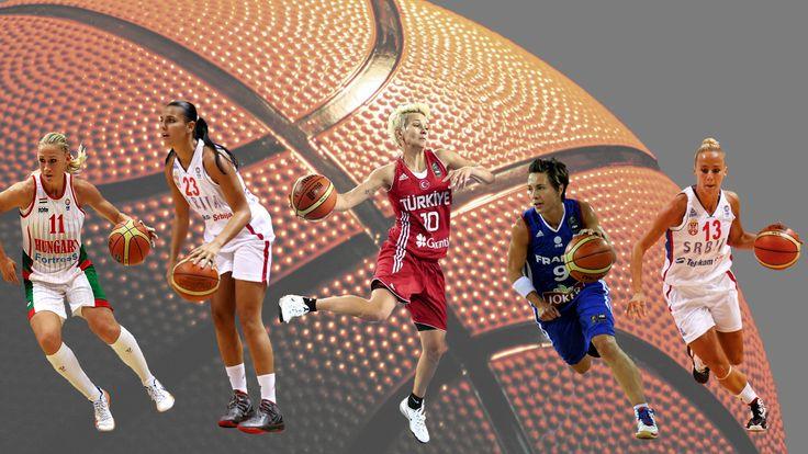 Basketball (Kata Honti, Ana Dabović, Işil Alben, Céline Dumerc, Milica Dabović)