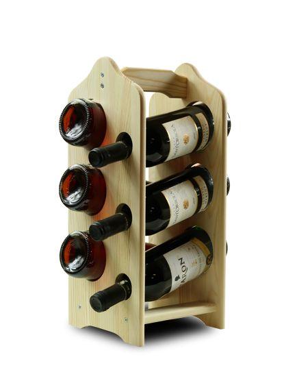 Regał na wino RW-9-6 - Seria RW-9 - Regały na wino