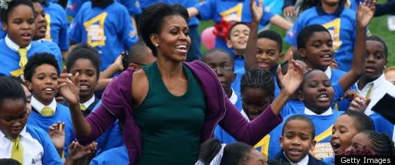 Michelle Obama Breaks World Jumping Jacks Record