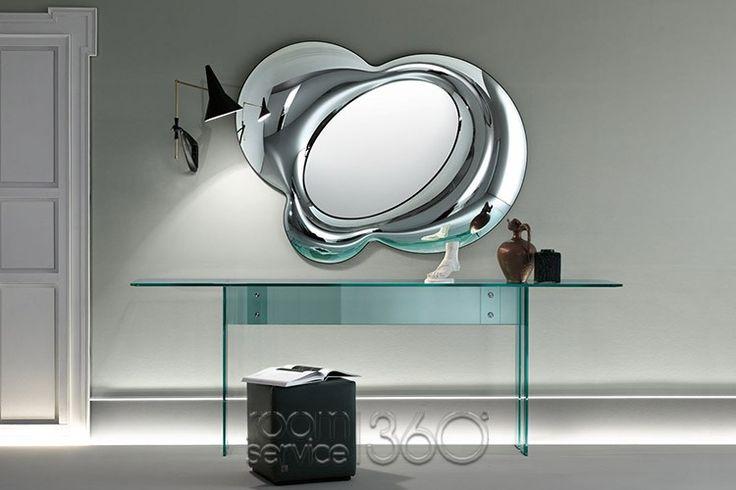 Lucy Mirror by Doriana and Massimiliano Fuksas for Fiam