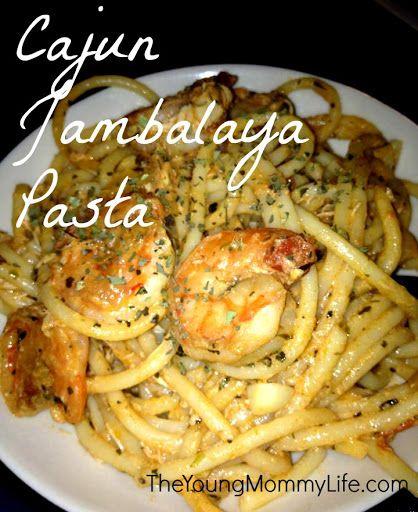 [In The Kitchen] Cajun Jambalaya Pasta With Shrimp, Chicken, And Sausage Recipe on Yummly. @yummly #recipe