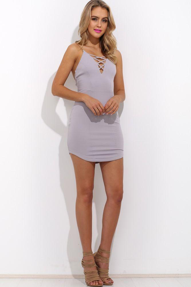 Honne Dress Grey