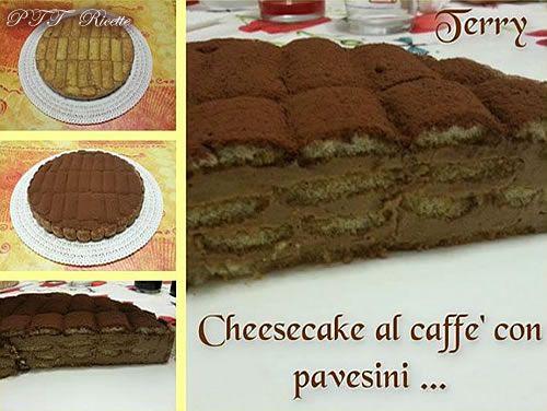 Cheesecake al caffè con Pavesini   Ricetta