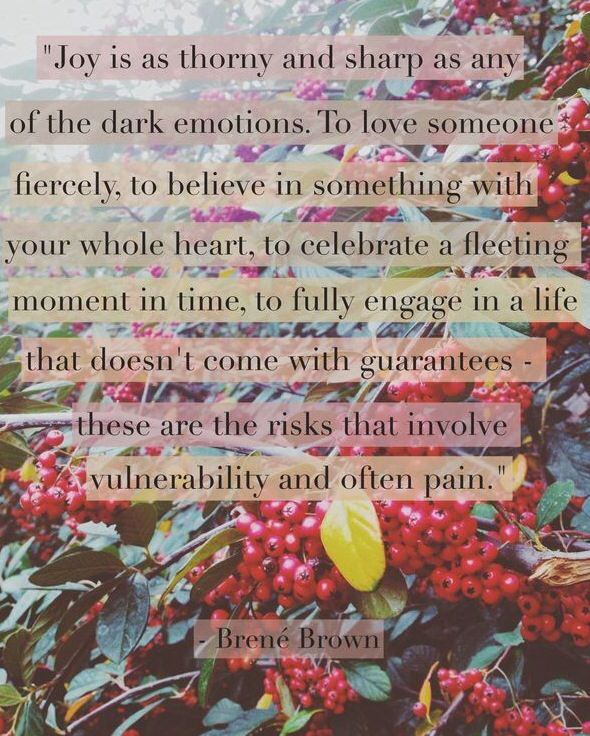 """...love someone fiercely..."" Love that! -Brene Brown"