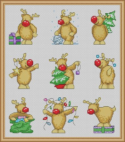 The 25+ best Christmas cross stitches ideas on Pinterest ...