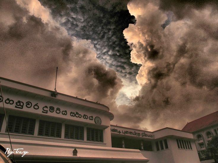 Kandy Railway Station ve městě මහනුවර, Central