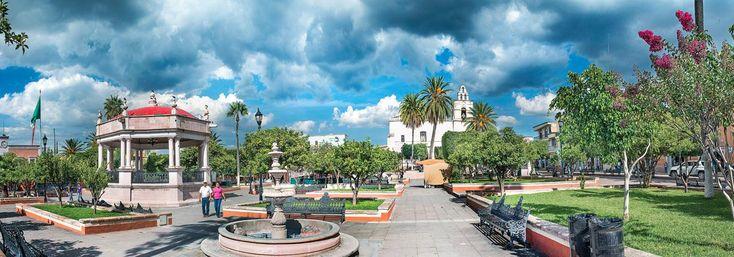 Calvillo. Ubicado en el estado de Aguascalientes, este Pueblo Mágico te invita a descubrir su hermosa arquitectura colonial (civil y religiosa) y a degustar uno de sus máximos tesoros: unas ricas guayabas.