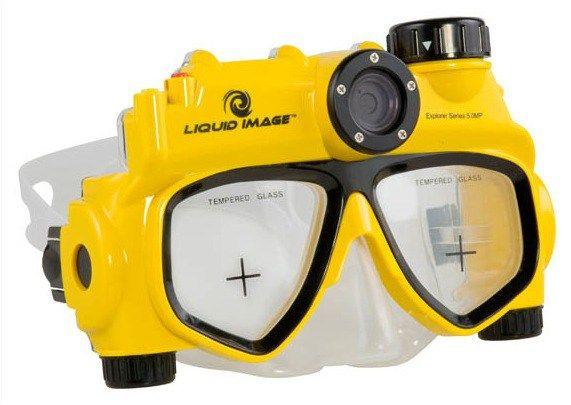 Liquid Image Swim Mask Has Built In Camera | Underwater ...