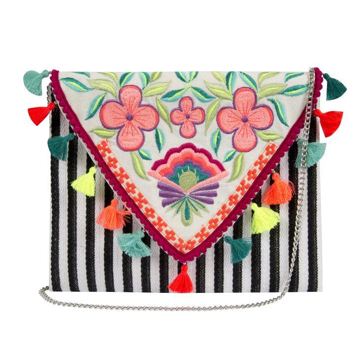 Bolsa colorida Camila Coutinho para Riachuelo | summer essentials collection colorful boho bag