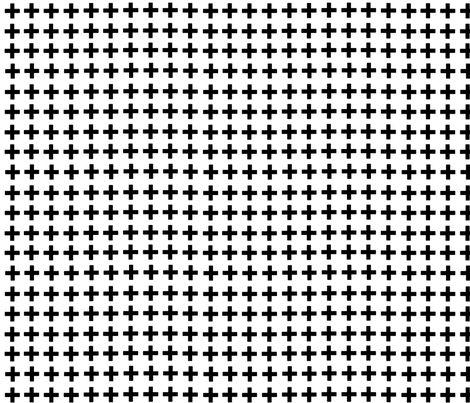 Black Cross fabric by e-lkh on Spoonflower - custom fabric