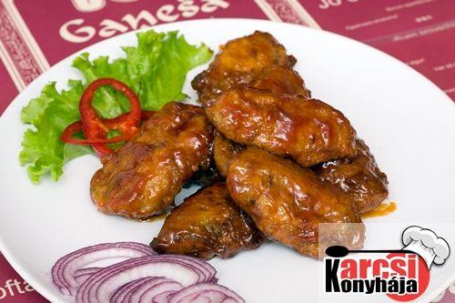 Édes savanyú csirke szárny - Karcsi konyhája