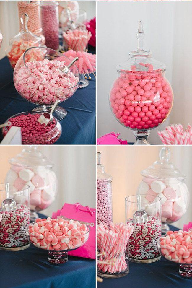 Candy Bars - DIY Hochzeitsideen http://www.gofeminin.de/wohnen/candy-bar-s1317322.html