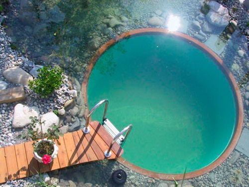 Clear Water Revival tends to focus its natural pool designs around maximizing biodiversity and the educational value of the space, creating a very natural look and feel. There are a number of options offered, from simple clay linings to more advanced systems. Customers can even order DIY kits.
