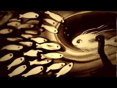 «Полёт» Ксении Симоновой - A Flight by Kseniya Simonova. Fly... you can Amazing sand artist