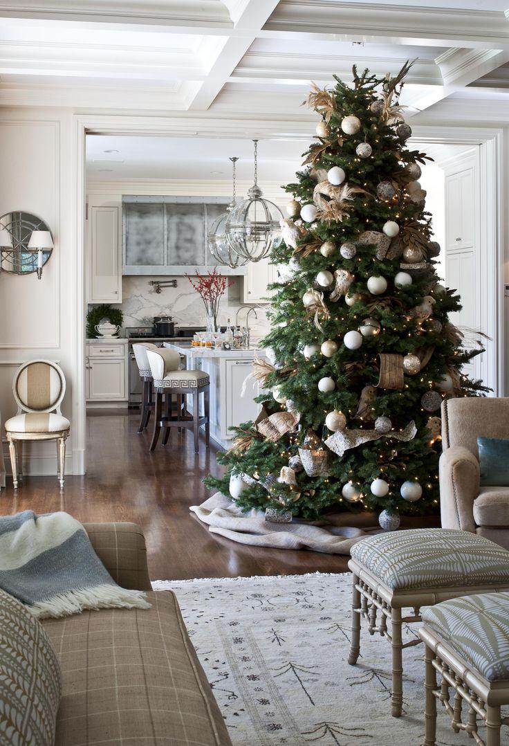Christmas at biltmore house christmas decorations inside b - Christmas Tree Nature Inspired Christmas Decorating Traditional Home