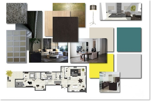 interior design, mood-board