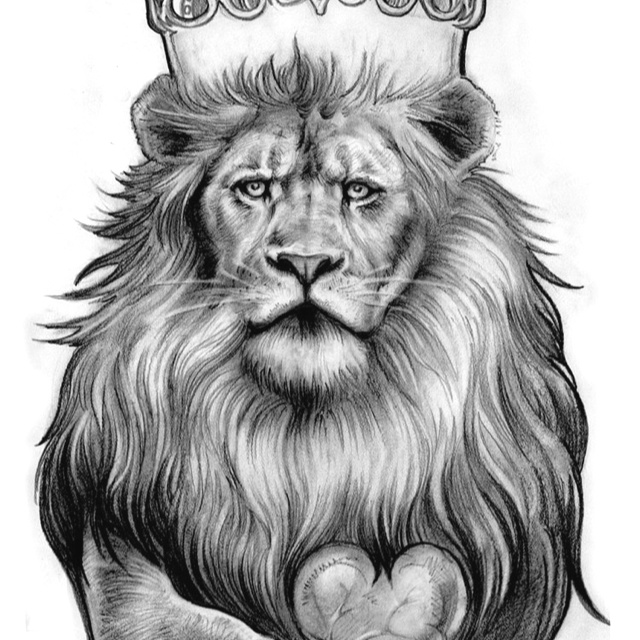 Lion With Crown Wallpaper Lion With Crown Tattoo Design: Tribal Lion Tattoo, Lion Tattoo