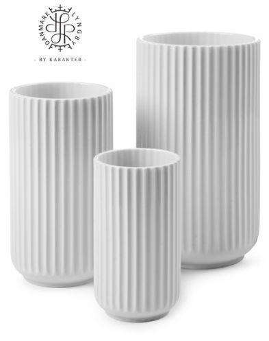 Lyngby vasen, hvid  Pris. ca. 650kr. Ønsker mig alle størrelser!