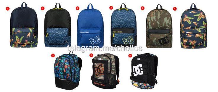 Nuevas mochilas DC a precio de chollo - http://ift.tt/1R01bYj
